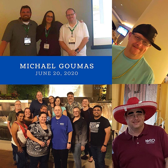 In memory, Michael Goumas