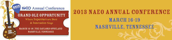 2013 NAEO Conference Banner