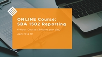 ONLINE Course: SBA 1502 Reporting