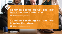 WEBExpress: Common Servicing Actions That Don't Involve Collateral