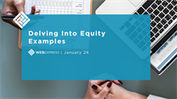 WEBExpress: Delving Into Equity Examples