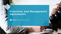 WEBExpress: Franchise and Management Agreements