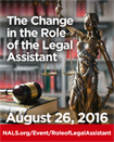 The Change in the Role of the Legal Assistant