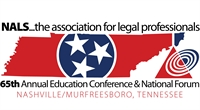 NALS 65th Annual Education Conference & National Forum