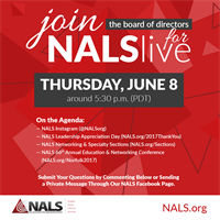 June NALS Live with NALS Board