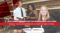 Webinar: Document Automation for Progressive Law Firms