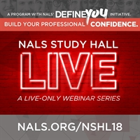 NALS Study Hall Live! Series: Workers' Comp., Personal Injury, and Maritime Law for PP