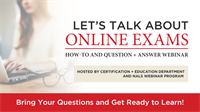 Q&A Session: Let's Talk About Online Exams