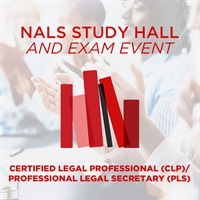 National Study Hall + Exam Event: Certified Legal Professional (CLP)
