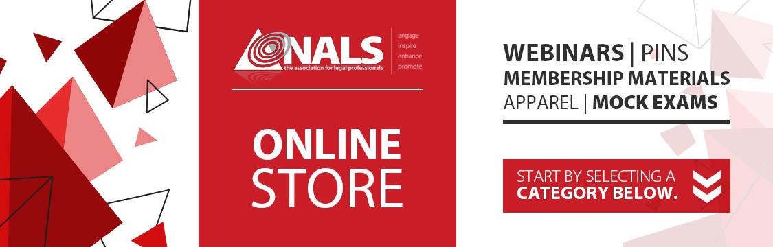 NALS Online Store Header