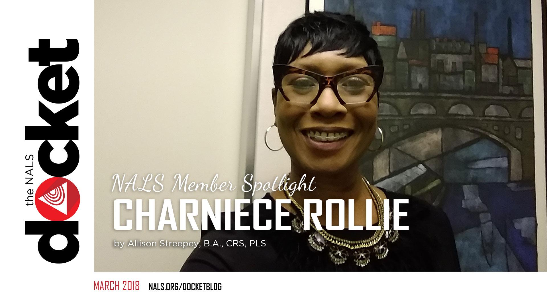 NALS of Missouri - Charniece Rollie - Legal Professional Spotlight