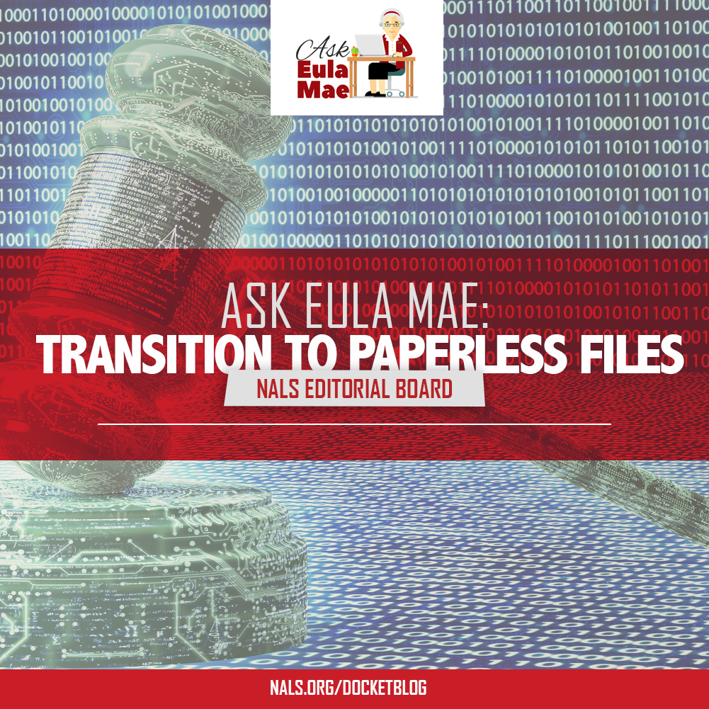 Transition to Paperless Files