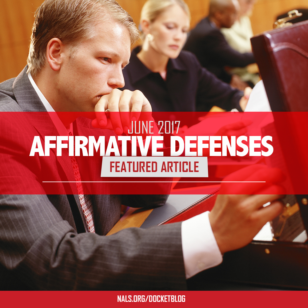 Affirmative Defenses