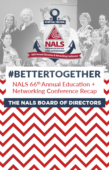 NALS Board Blog - NALS 66th Annual Recap Article