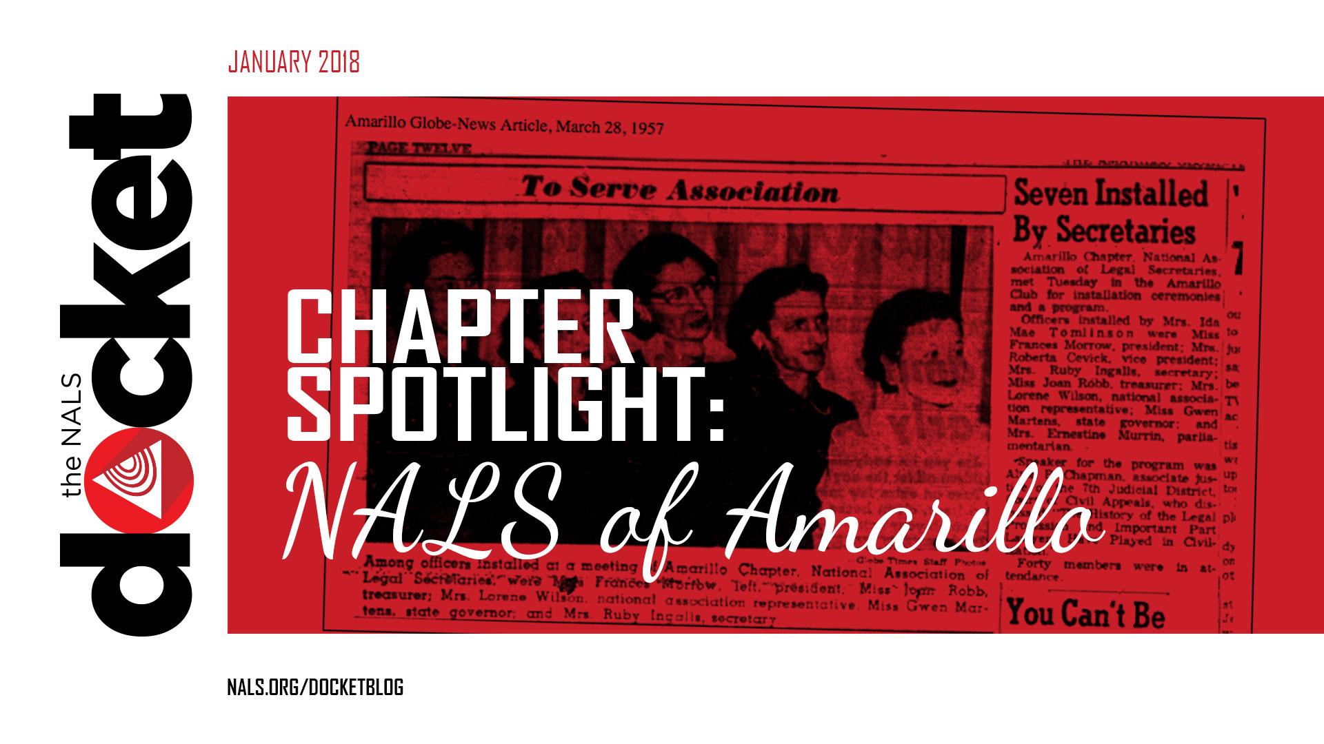 NALS of Amarillo Chapter Spotlight