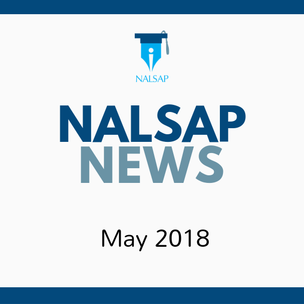May 2018 NALSAP Newsletter