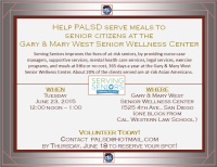 Volunteer  at the Gary & Mary West Senior Wellness Center