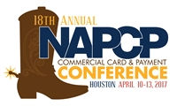2017 NAPCP U.S. Annual Commercial Card and Payment Conference - Houston- Buddy