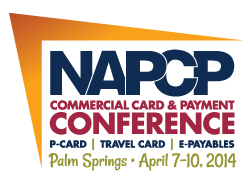 2014 NAPCP 15th Annual Commercial Card and Payment Conference - Palm Springs - NAPCP