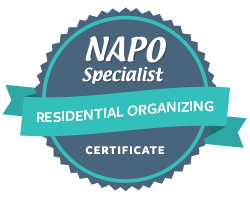 NAPO Specialist Residential Organizing Certificate