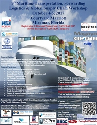 9th Maritime Transportation, Forwarding Logistics & Global Supply Chain Workshop