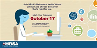 HRSA Behavioral Health Virtual Job Fair