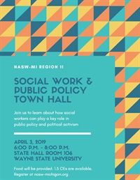 Social Work & Public Policy Town Hall (1.5 CEs)