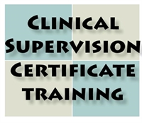 2016 Clinical Supervision Certificate Training