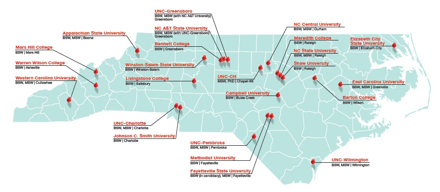 Social Work Programs in North Carolina - National ociation of ... on