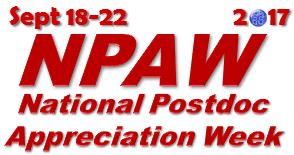 2017 NPAW Events - National Postdoctoral Association