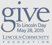Give to Lincoln Day - May 28th