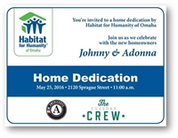 Omaha Gives! Habitat for Humanity Home Dedication!
