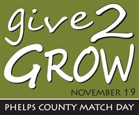 Give2Grow - Phelps County Match Day
