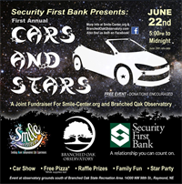 Cars and Stars, a star-gazing benefit for Branched Oak Observatory (Raymond, NE)