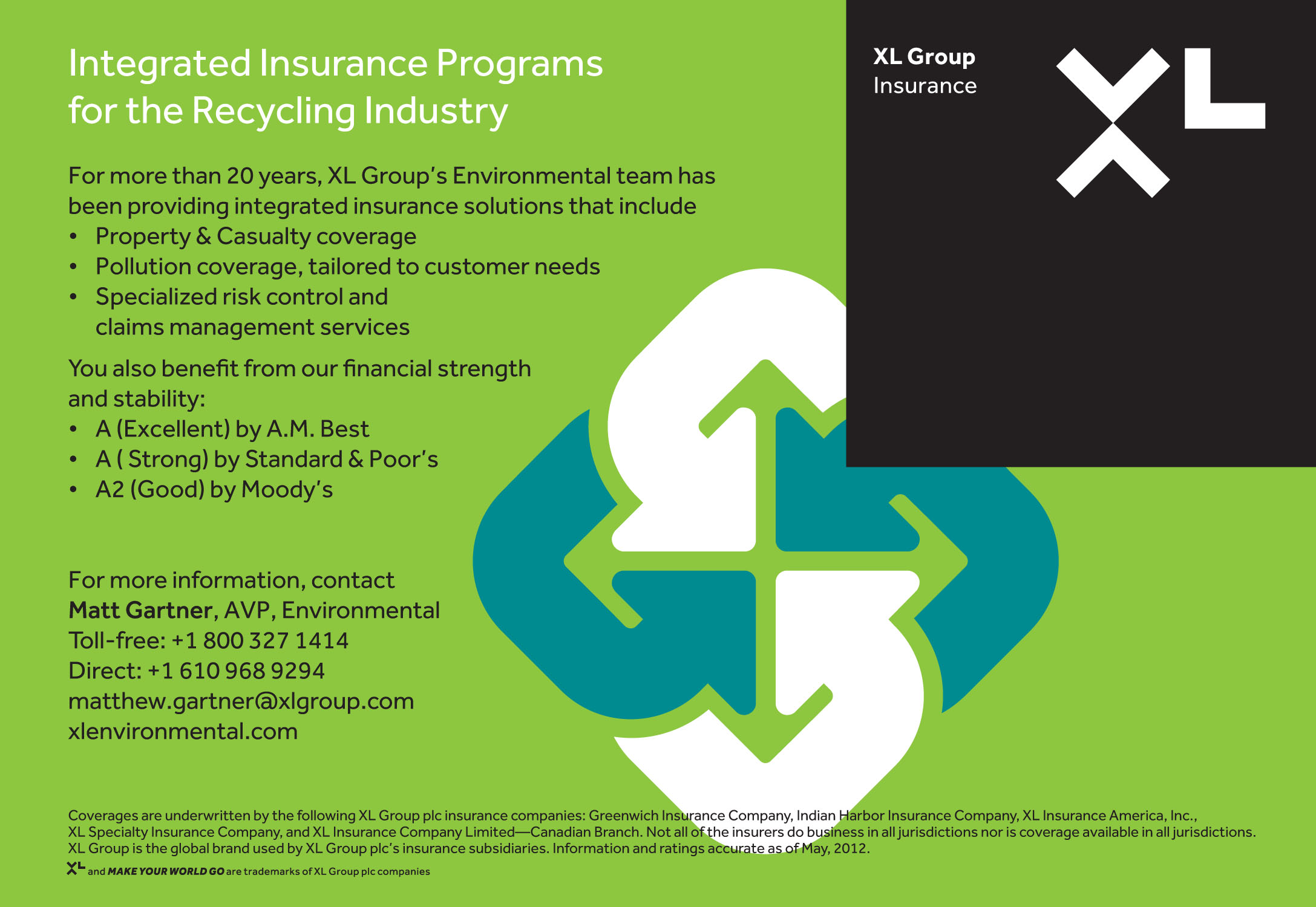 XL Insurance - NORA, An Association of Responsible Recyclers