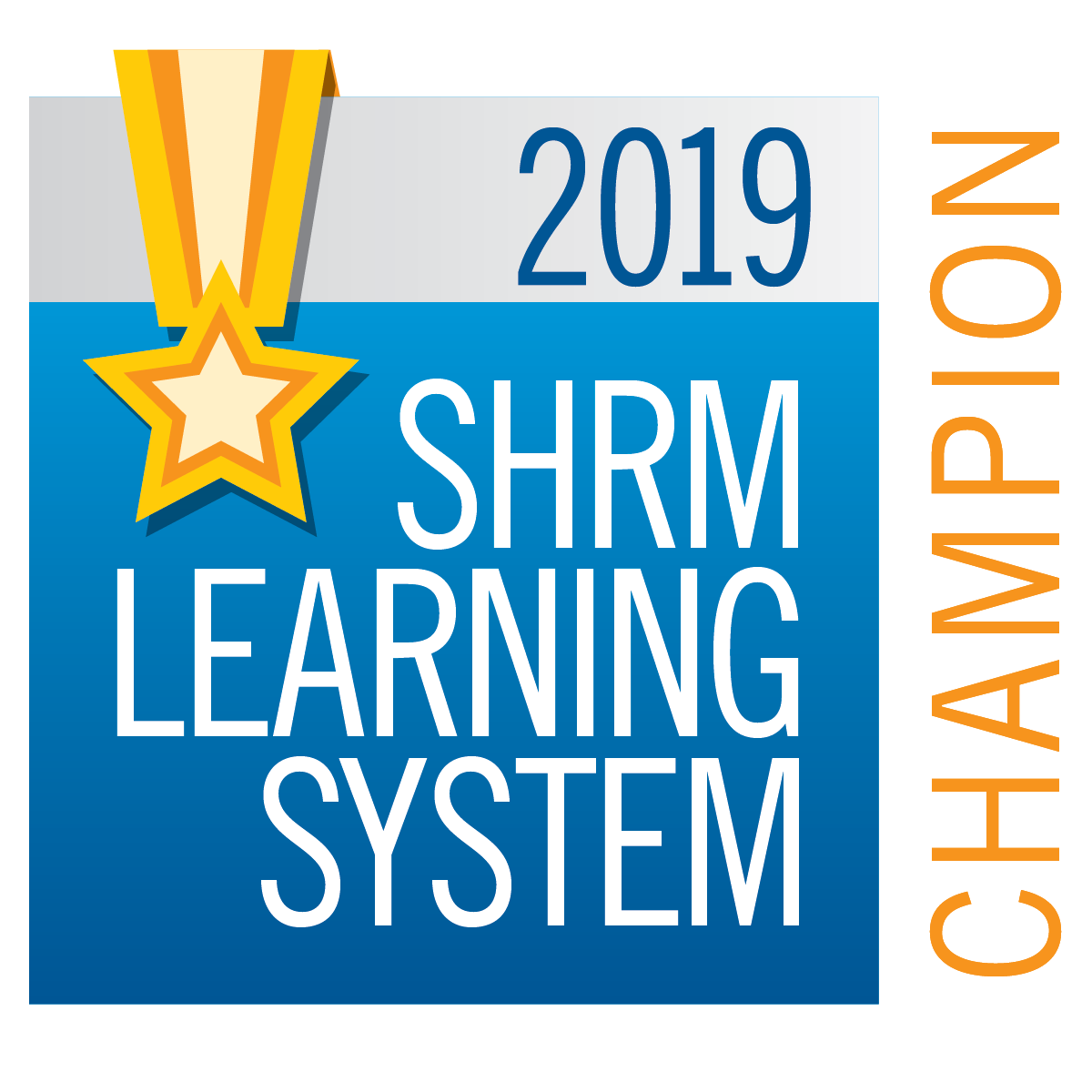 2019 SHRM Learning System Champion
