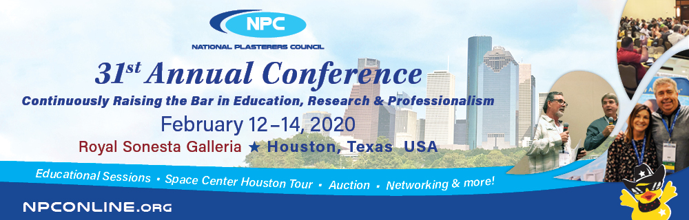Celebrate the 31st NPC Annual Conference in Houston, TX!