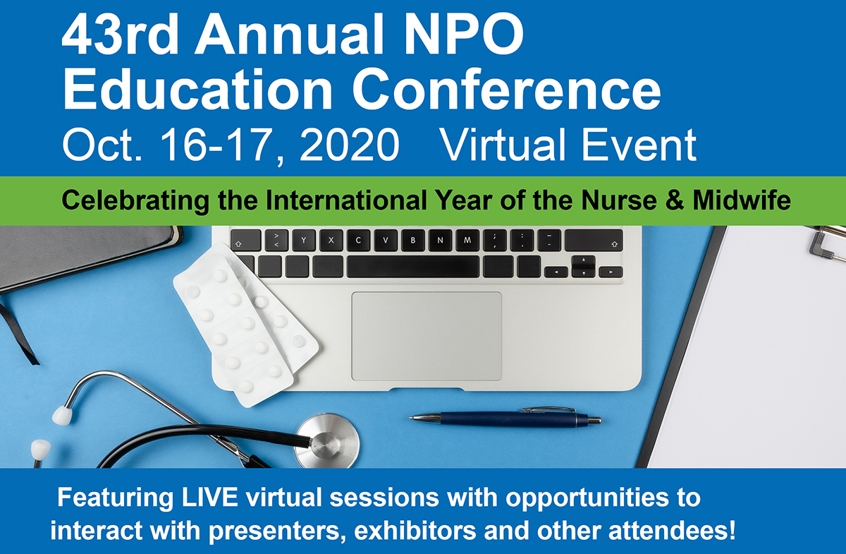 NPO Virtual Education Conference, Oct. 16-17, 2020