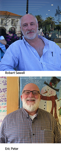 Robert Sewell and Eric Peter