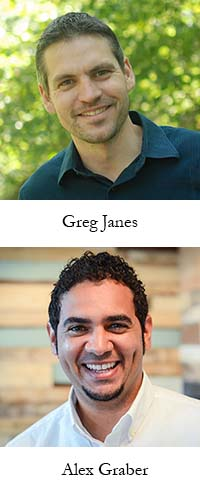 Greg Janes and Alex Graber