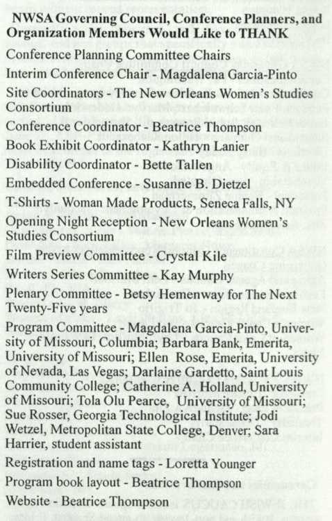 List of 2003 program committee members