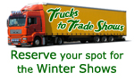 OAN Trucks to Tradeshow Program