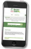 NurseryGuide.com now mobile device-friendly