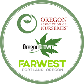 OAN logos and Oregon Grown logos