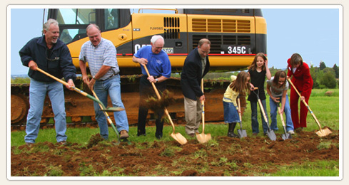 Oregon Garden groundbreaking