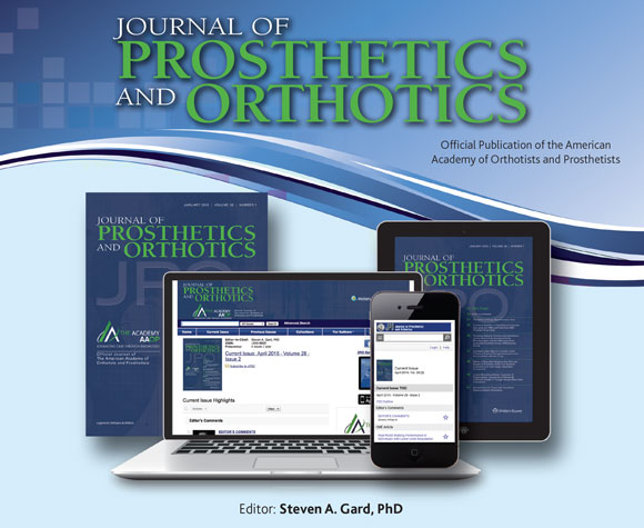Journal of Prosthetics and Orthotics