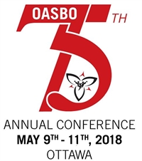 OASBO 75th  Annual Conference & Education Industry Show May 9-11, 2018