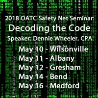 OATC 2018 Safety Net Seminar: Decoding the Code