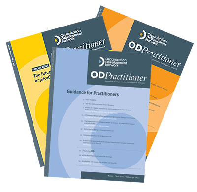 OD Practitioner issue covers