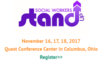 NASW (National Association of Social Workers) 2017 Annual Conference: Social Workers Stand Up